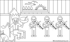 Old king cole free coloring page http makingartfun for Old king cole coloring page