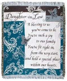 future daughter in law quotes thoughts \ future daughter in law quotes ; future daughter in law quotes love you ; future daughter in law quotes thoughts ; future daughter in law quotes funny ; future daughter in law quotes love Daughter In Law Quotes, Birthday Daughter In Law, Daughter In Law Gifts, I Love My Daughter, Son In Law, Son Quotes, Future Daughter, Daughters, Qoutes