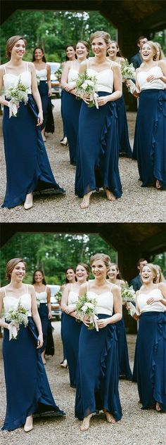 Dark Teal Chiffon Bridesmaid Dresses Simple Bridesmaid Dresses Long Bridesmaid Dresses · Focusdress · Online Store Powered by Storenvy Affordable Bridesmaid Dresses, Long Bridesmaid Dresses, Cheap Prom Dresses, Trendy Dresses, Wedding Dresses, Dresses Dresses, Bridesmaid Outfit, Popular Dresses, Long Dresses