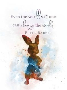 home Illustration Beatrix Potter - Peter Rabbit inspired Quote ART PRINT illustration, Beatrix Potter, Wall Art, Home Decor. Disney Love Quotes, Cute Quotes, Bunny Quotes, Beatrice Potter, Pinturas Disney, Art Prints Quotes, Quote Art, Baby Art, Disney Tattoos
