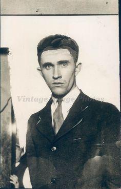 1929 Photo Murder Suspect Elmer Grayson Bandit Robert Kirby Smiths Grove KY