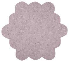 Large crochet floor mat — La De Dah Kids