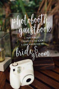 Ideas For Wedding Guest Book Sign Printable Photo Booths Polaroid Photo Booths, Diy Photo Booth, Wedding Photo Booth, Guest Book Table, Photo Guest Book, Guest Book Sign, Guestbook, Polaroid Wedding, Beach Wedding Photos