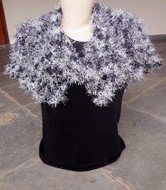Modernizando o crochê: Capa em crochê (crocheted cape)