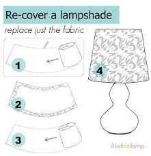 3 Ways to Make a Cone-Shaped Lampshade - Read about DIY lampshade kits and… Lampshade Kits, Make A Lampshade, Fabric Lampshade, Painting Lampshades, Cover Lampshade, Recover Lamp Shades, Home Crafts, Diy And Crafts, Diy Drums