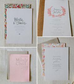 AllieRuth Design Wedding Invitations