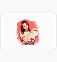 Mina Graphic Sticker