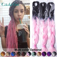 Items per Package: 1strands/pack Color Type: Ombre Can Be Permed: No Texture: Straight Material Grade: High Temperature Fiber Brand Name: FALEMEI Longth: 24Inch Weight: 100g Quantity: Usually 5-6 packs can full a head Shipping: DHL&UPS FedIx: 3-7days ePacket: 10-25days Notice: If Urgent Needs Please Choice Fast Shipping(DHL&UPS)