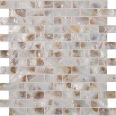 MS International Santorini 12 in. x 12 in. x 3 mm Glass Mesh-Mounted Mosaic Wall Tile-GLSSHLBRK-SANTORI at The Home Depot