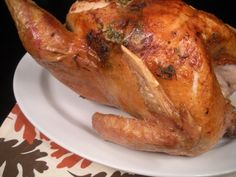 Roasted Thanksgiving Turkey with Herbed Butter