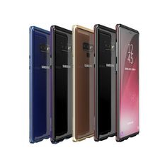 a56ae591458 Metal-Element Samsung Galaxy Note 9 Case Aluminum Metal Bumper Frame for  Galaxy Note 9 Slim Thin Edge Cases