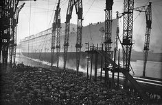 """A former luxury ocean liner and war ship nicknamed the """"Grey Ghost,"""" the Queen Mary was purchased by the city of Long Beach in 1967, transformed into a hotel, and became a popular tourist attraction..."""
