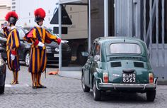 Original Fiat 500 in Rome. The Fiat 500, the Cinquecento small and practical car designed by Dante Giacosa, was produced by the Italian carmaker Fiat. driving.ca