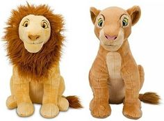 """Disney Store The Lion King Plush Doll Gift Set Featuring 17"""" Adult Simba and 16"""" Adult Nala Stuffed Animal Toys Disney Interactive Studios http://www.amazon.com/dp/B006EOZLW8/ref=cm_sw_r_pi_dp_Imhpvb15A102X"""