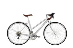 Bobbin Bicycles Luna bike brushed alloy