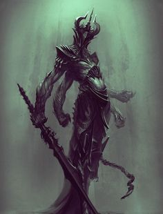 "fantasy-art-engine: "" Dark Prince by Niko Nikizar """
