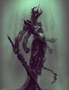 "fantasy-art-engine: "" Dark Prince by Niko Nikizar """
