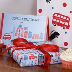 Gift Wrap London Theme by Piccalilly, the perfect gift for Explore more unique gifts in our curated marketplace. Wrap London, Paper Source, Congratulations Card, Gift Wrapping Paper, Baby Girl Gifts, Card Sizes, Kids Gifts, Unique Gifts, Wraps