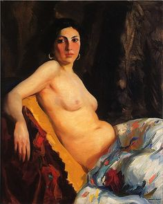 Robert Henri: leader of The Eight (1908; later Ashcan school). Emphasized realism. 1904: Bellows studied painting with him at NY School of Art.