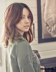 "Lee Hyori in ""보통의 날들 "" for Marie Claire Korea March 2015. Photographed by Hong Jang Hyun"