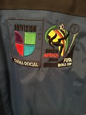 2010 FIFA WORLD CUP SOUTH AFRICA UNIVISION official NETWORK on-air Jacket Large