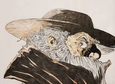 Cogliostro from Spawn - Comic Art Pencil Art, Pencil Drawings, Spawn Comics, Marker Art, Art Day, Drawing Sketches, Colored Pencils, Comic Art, Moose Art