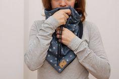 #Accessoire #DIY #Winter #Hals #Lieloop #Halssocke #Loop #freebook #freepattern #Schnittmuster