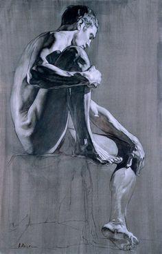 Alexey Morosov Jeune sculpteur russe de Moscou né en 1974 mais qui travaille aussi en Italie. Il crée des sculptures, des peintures et des dessins avec un style et une technique très classique imprégnée d'un sentiment très contemporain. Beaucoup de force et d'agressivité dans ce travail d'un artiste vraiment intéressant à suivre.