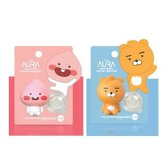 KAKAO-FRIENDS-Car-Air-Freshener-Moving-Type-2ml-Vent-Clip-Auto-Vehicle-LG-Aura