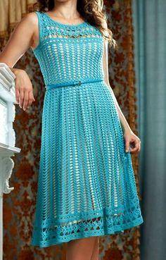 Fabulous Crochet a Little Black Crochet Dress Ideas. Georgeous Crochet a Little Black Crochet Dress Ideas. Crochet Bodycon Dresses, Black Crochet Dress, Crochet Skirts, Crochet Blouse, Crochet Clothes, Knit Dress, Dress Skirt, T-shirt Au Crochet, Moda Crochet