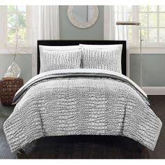 Alligator 3 Piece Queen Comforter Set
