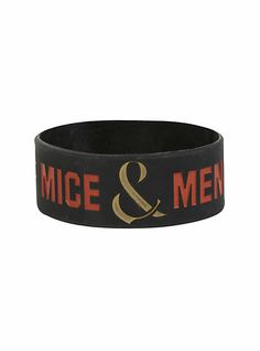 2e149f53dca8 Of Mice   Men Wreath Rubber Bracelet  7.00   5.25 sale  Love Band