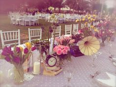 Alice in Wonderland theme wedding