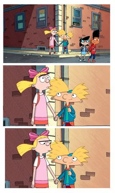 Helga & Arnold. Hey Arnold The Jungle Movie