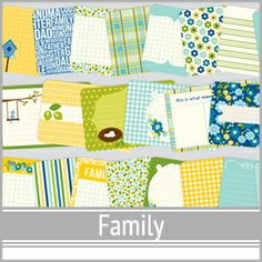 Family Card Design Reference PDFs   digitalprojectlife