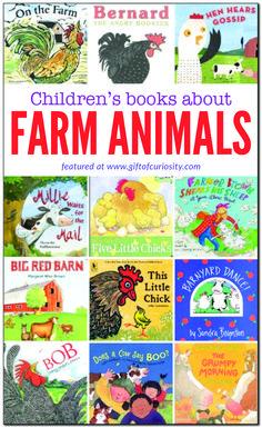 Children's books about farm animals Farm Activities, Science Activities For Kids, Preschool Ideas, Farm Unit, Farm Kids, 12th Book, Farm Theme, Animal Books, Farm Animals