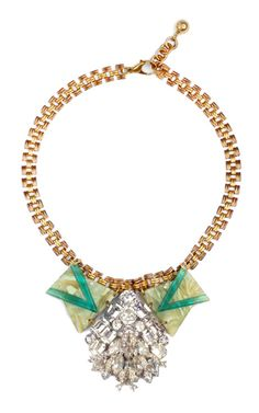 Shop 50 Year Necklace Featuring Vintage Parts From 1860-1960 by Lulu Frost for Preorder on Moda Operandi