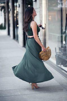 a twirl worthy two piece | TheStyledFox.com - a Houston Fashion Blog by @_anna_english