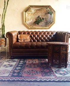 You can't beat the classics. Shop Apartment Therapy Marketplace for the perfect chesterfield.