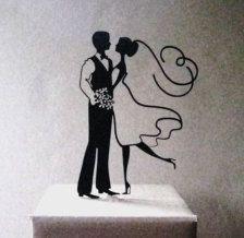 Figurines de gateau dans Déco - Etsy Mariages