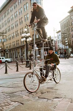 "new series for Red Bull: ""Tall Bikes Will Save The World"""