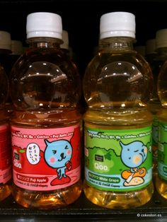 Qoo Fuji Apple and White Grape in 345ml PET bottles from Coca-Cola Singapore