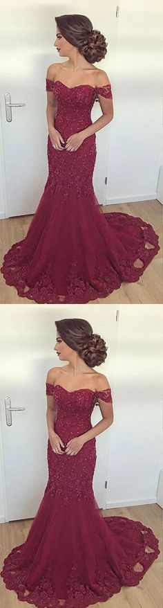 Off the Shoulder Prom Dresses, Prom Dress, Evening Dresses, Formal Dresses, Graduation Party Dresses M2216