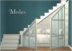 نتيجة بحث الصور عن the sims 4 cc Staircase