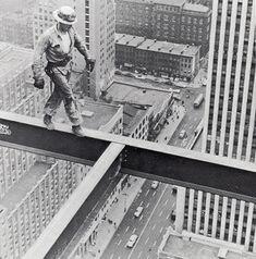 1955 Steel Worker on Socony Mobil Building