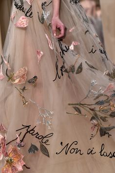 Valentino Spring 2015 Haute Couture #details