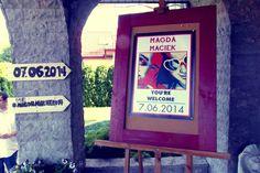 #magdamaciek #wedding #decoration #hashtag #socialmedia #welcome #american #patriotic