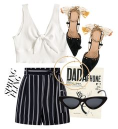 """""""spring fling"""" by and-the-city ❤ liked on Polyvore featuring Ulla Johnson, DaDa, Le Specs and springdresses"""