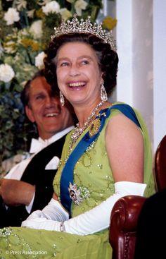 BritishMonarchy on Twitter:  Queen Elizabeth, 1977