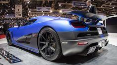 1,115bhp Koenigsegg Agera R,  0–100 km/h (62 mph) in 2.9 seconds  Top speed of more than 420 km/h (260 mph)